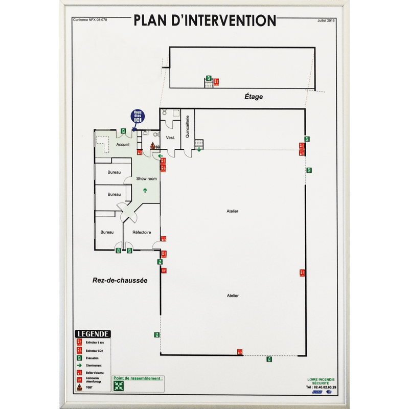 plan d'intervention image